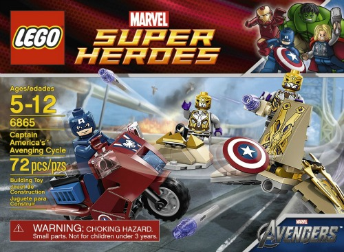 LEGO Captain Americas Avenging Cycle