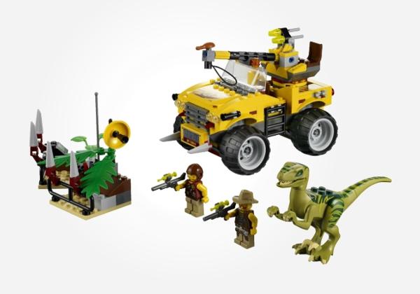LEGO Dino Raptor Chase