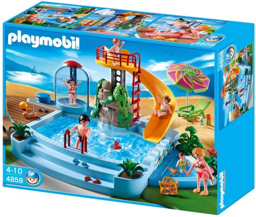 Playmobil Open Air Pool with Slide