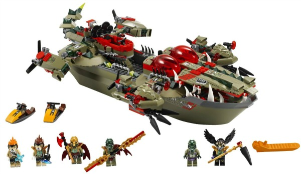 lego chima cragger command ship - top lego toys for kids