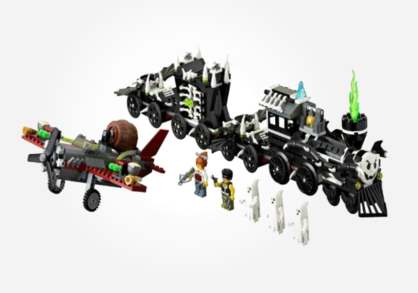 lego monster fighters ghost train - best lego toys