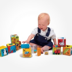 Building Blocks for Toddlers and Babies: The Things Kids Learn Through Block Play