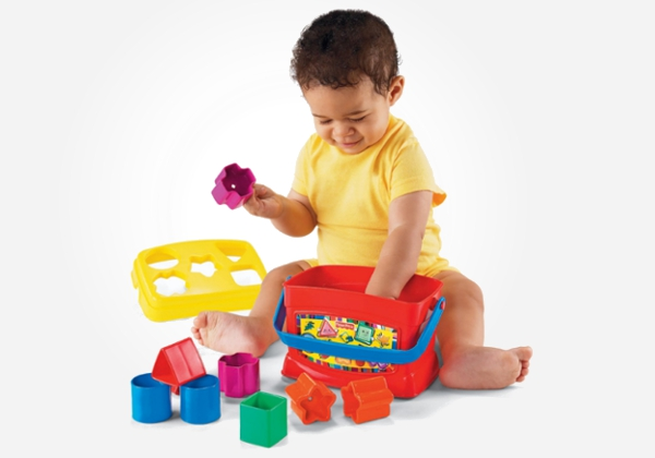 How the Humble Shape Sorter Toy Helps Your Baby to Thrive
