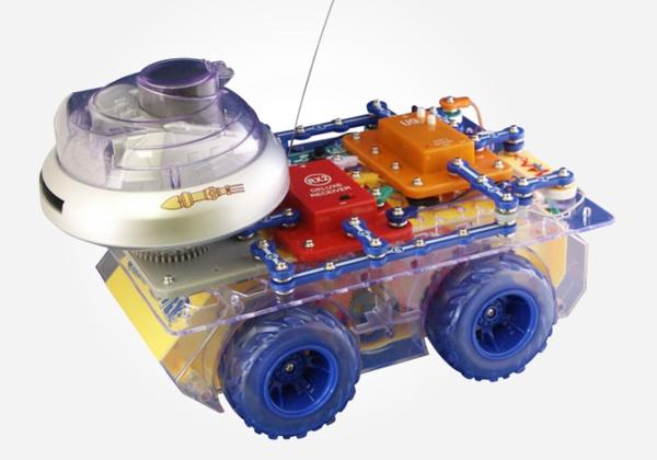 Snap Circuits electronic learning kits - Snap Circuits RC Rover