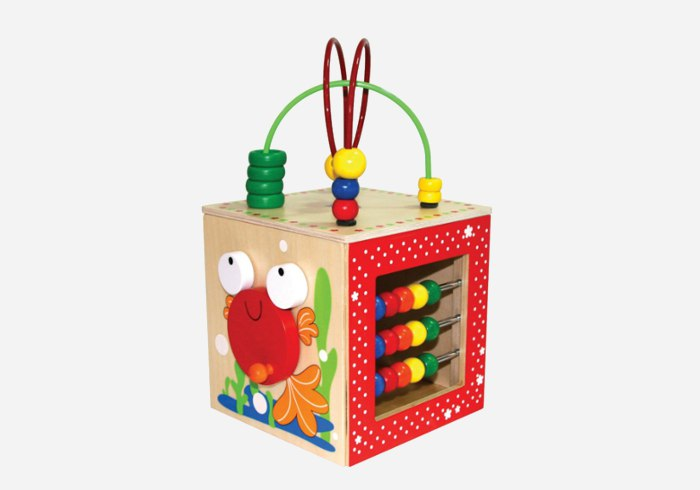 Wooden puzzles for kids - Educo Discovery Box2