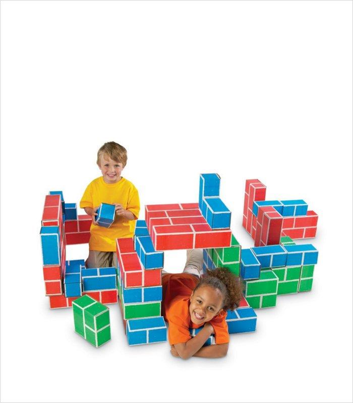 Cardboard blocks for kids - Educational Insights Playbrix