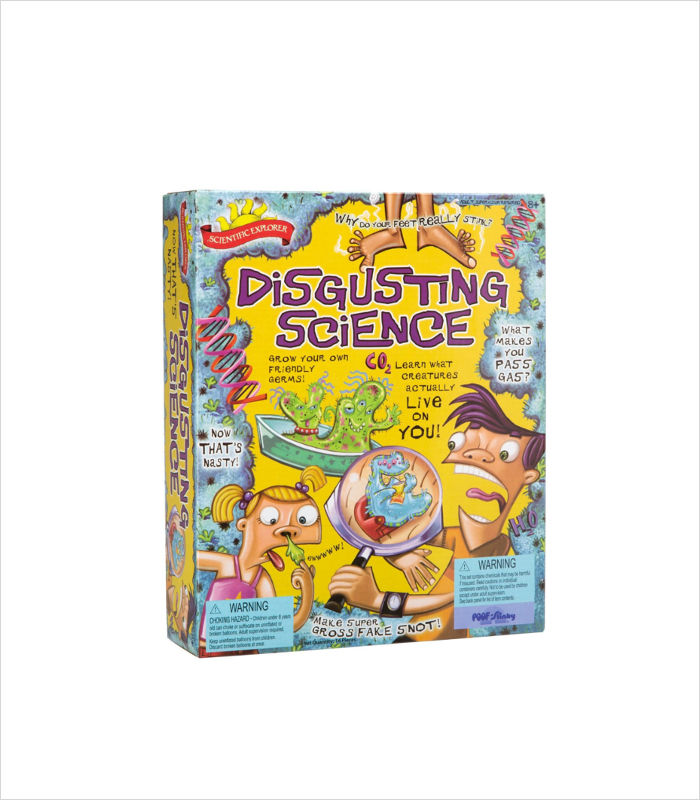 Science toys for kids - Disgusting Science Kit