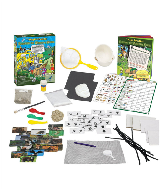 Science toys for kids - Magic School Bus Wonders of Nature Science Kit