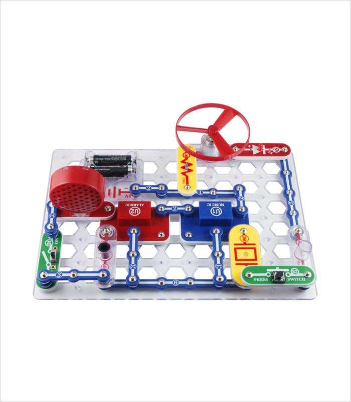 Science toys for kids - snap circuits kit