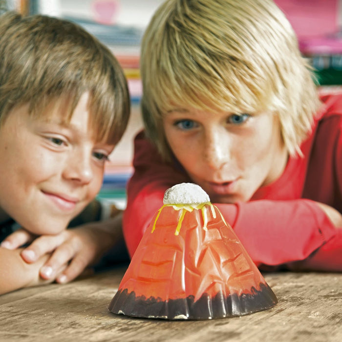 Science toys for kids - volcano making kit