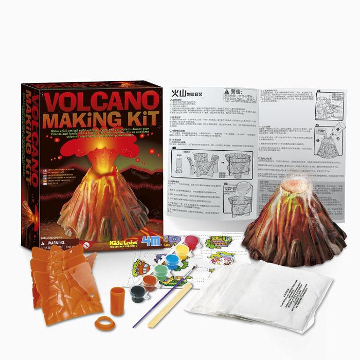 Science toys for kids - volcano making kit