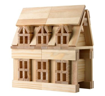 Construction toys for kids - Citiblocs original wooden building block set for kids who love to build cool stuff.