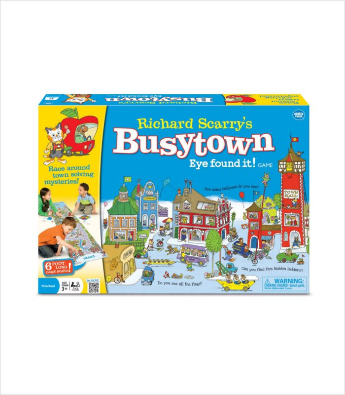 Educational games for kids - busytown game