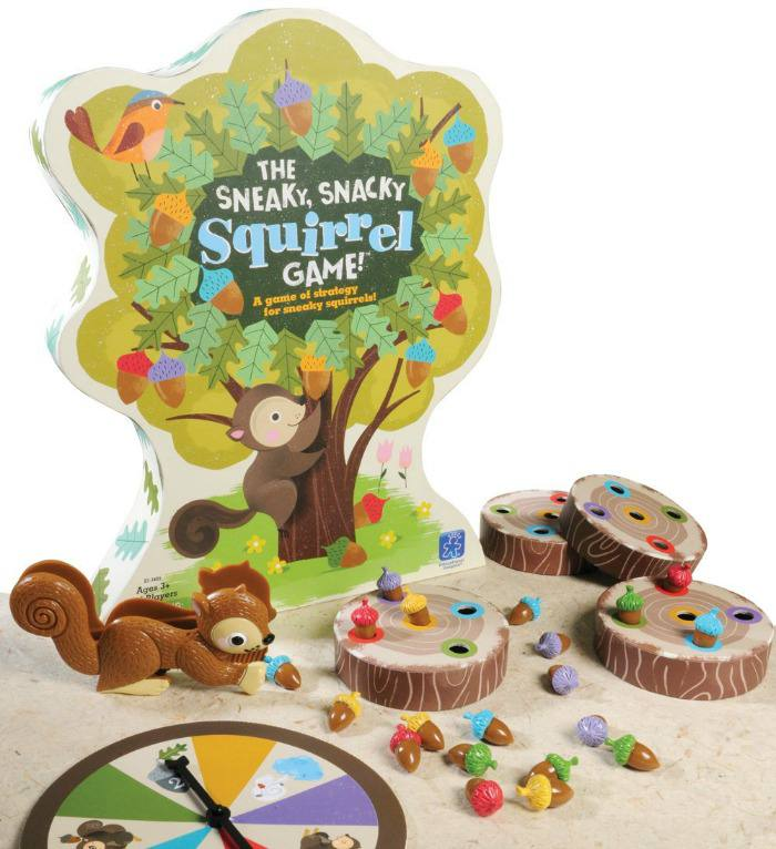 Educational games for kids - The Sneaky Snacky Squirrel Game