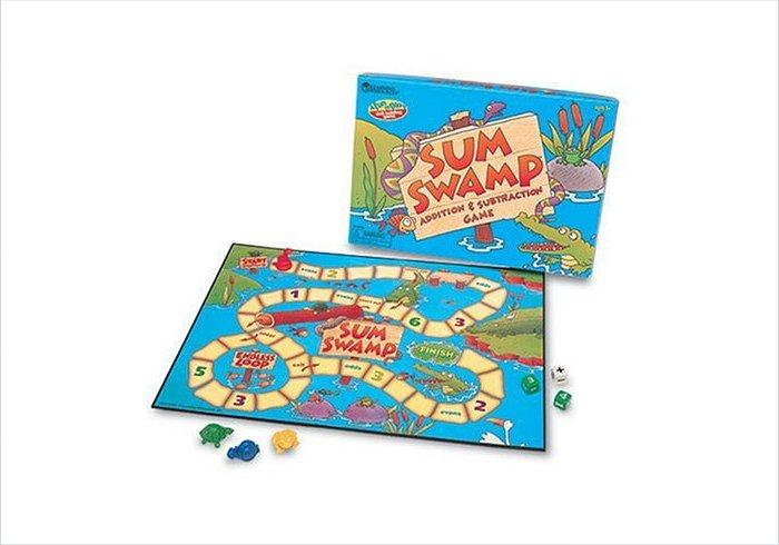 Educational games for kids - sum swamp