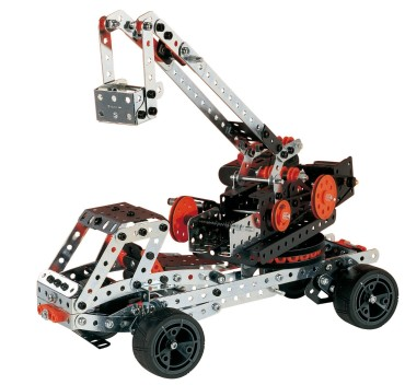 Erector Motorized Racing Car & More
