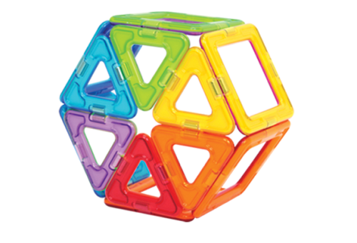 Magformers - 30 Piece Rainbow Set