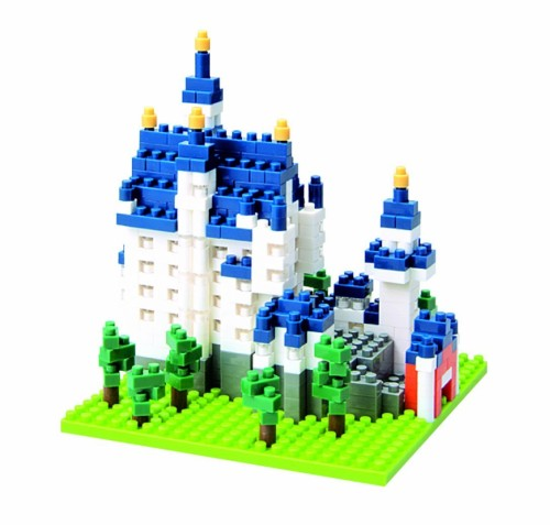 Nanoblock Castle Neuschwanstein