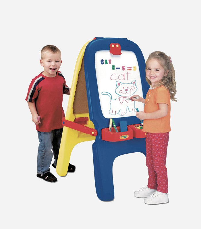 Best easels for kids - Crayola Magnetic Double Easel