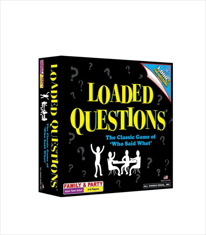 Loaded Questions is a cool board game for preteen kids