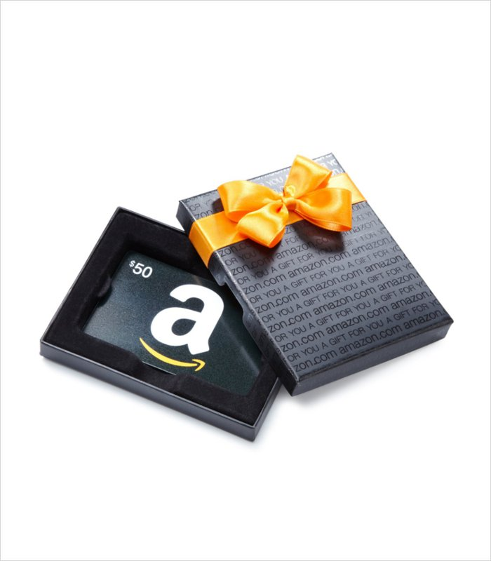 If all else fails, you can always get your birtday boy an Amazon gift card - they come boxed too!
