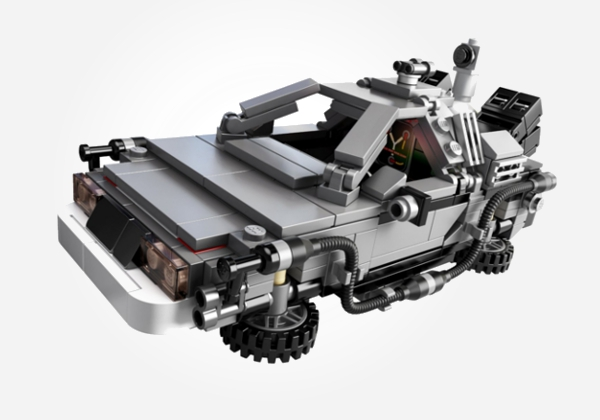 Back to the Future LEGO as a 12 year old boy gift idea
