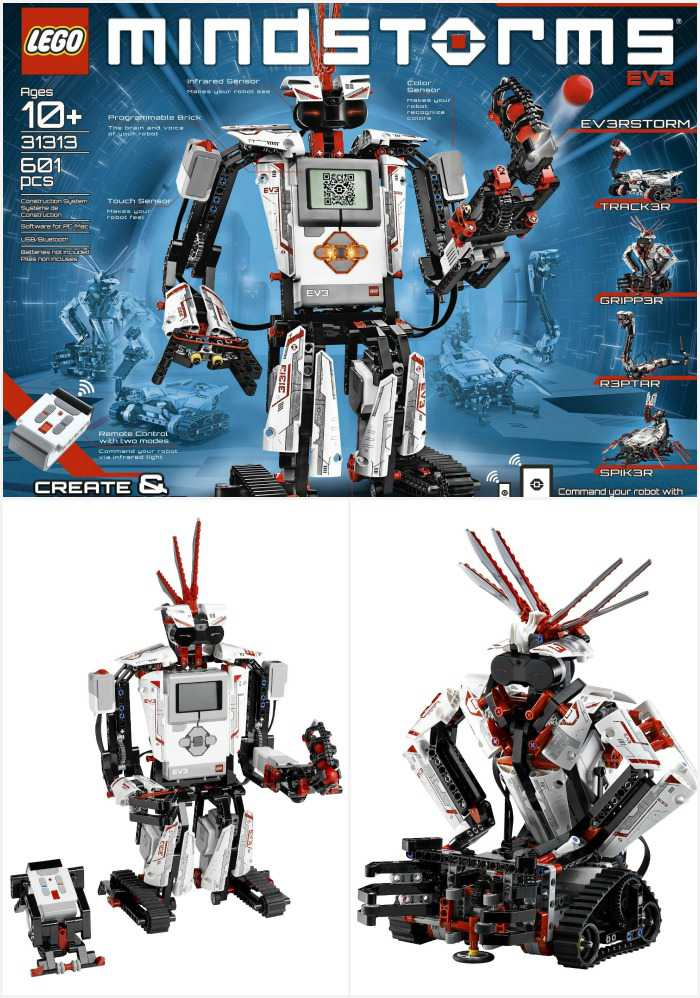 A LEGO Mindstorms EV3 kit makes an awesome 12 year old boy or girl Christmas gift