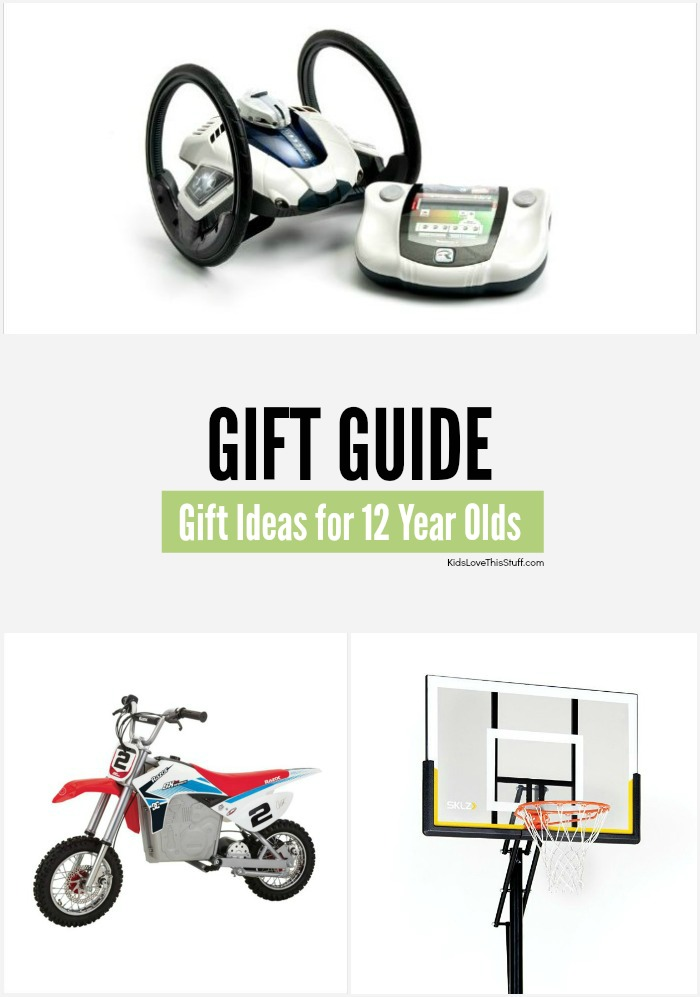 Looking for gift ideas for 12 year olds? They're tough to buy for, but here are a few cool suggestions for the 12 year old boy or girl in your life.