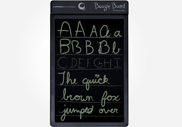 It's a tablet that you can write on! Cool electronic gift idea for an eleven year old boy.