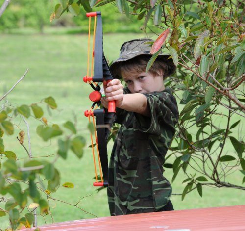 Archery sets make way cool birthday gifts for boys aged eleven