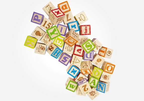 These alphabet building blocks should make learning as easy as ABC