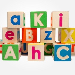 Wooden Alphabet Blocks That Make Teaching the ABC Way More Fun