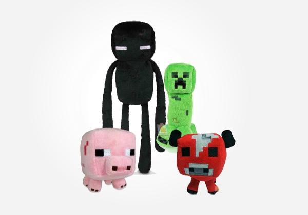 Minecraft Plush Toys uk Minecraft Plush Toys Geeky