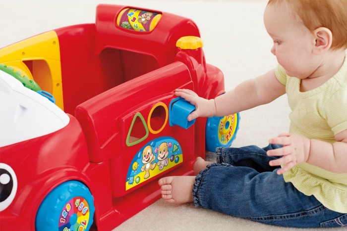 Tiny Tots Toys : Fisher price laugh learn crawl around car for tiny tots