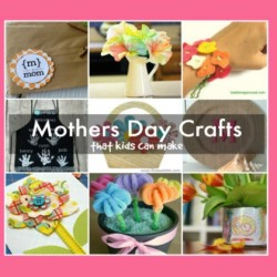 Simple Mothers Day Crafts for Kids Who Love Getting Creative
