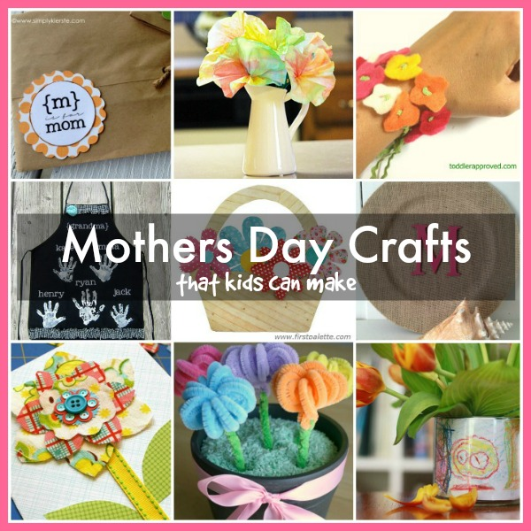 pretty mothers day crafts for kids
