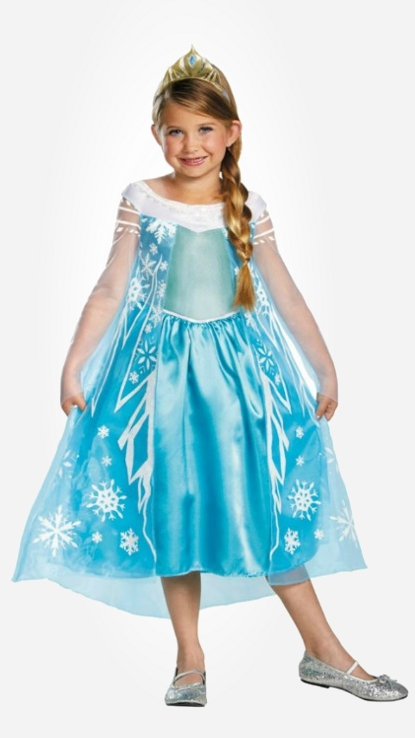 Frozen Elsa dresses for little princesses