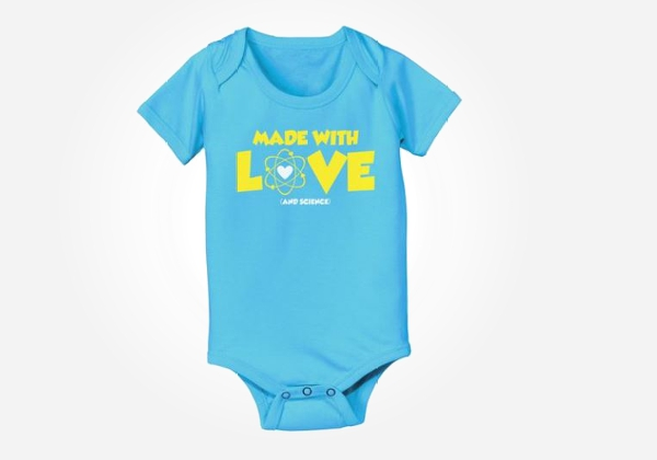 Cool funny nerdy baby onesies