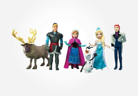 Disney Frozen gifts - Disney Frozen playset featuring all the characters from the movie.