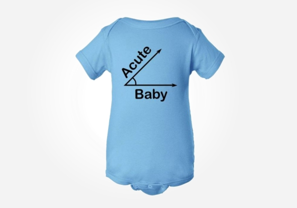 Nerdy baby onesies like these are sooo actue