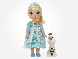 Top toys for Christmas 2014 - Disney Frozen Snow Glow Elsa Doll