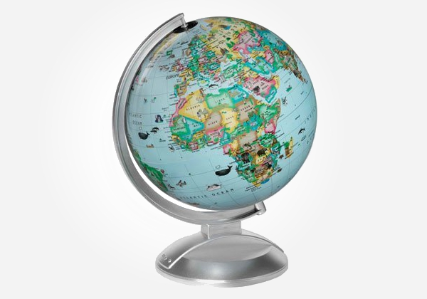 The all around the world globe - back to school gifts for kids.