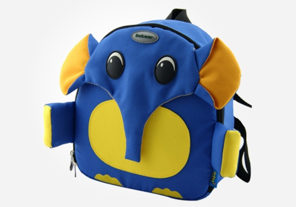 backpacks for toddlers - cartoon elephant backpack