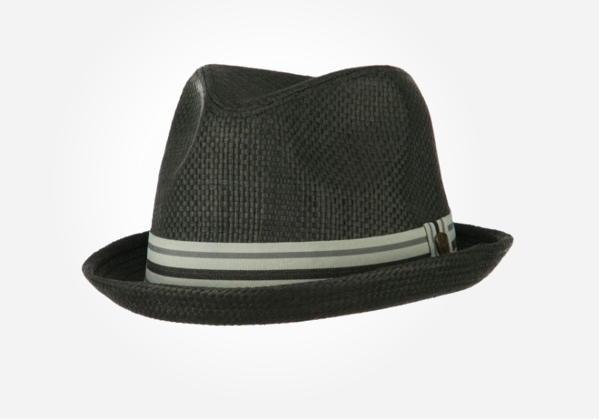This striped band fedora hat would make a great Christmas gift for a preteen boy