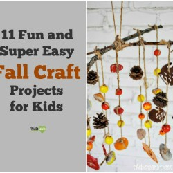 11 Fun and Super Easy Fall Craft Projects for Kids