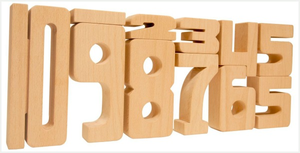 Fun math building blocks for kids - they learn math while they 'play'