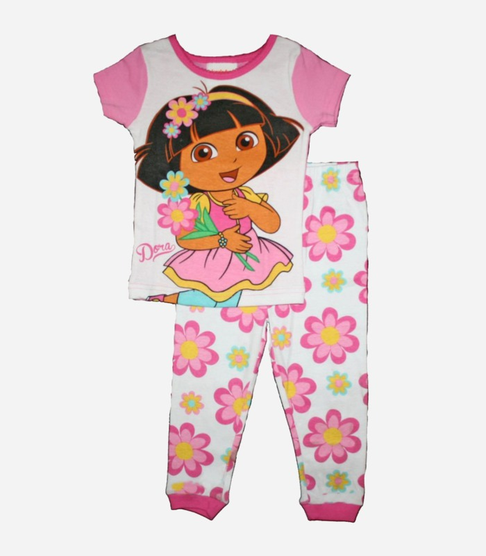 Dora the Explorer PJs - one of many birthday gift ideas for 4 year old girls