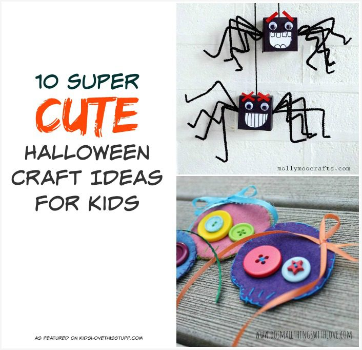 Halloween craft ideas for kids.
