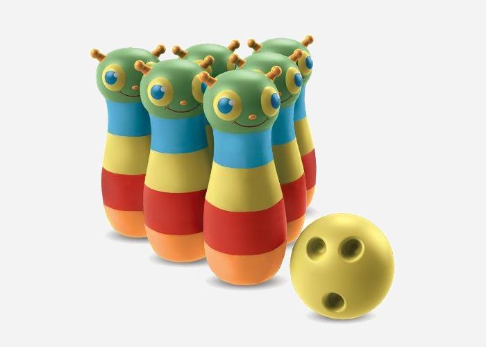 Happy giddy bowling set - a fun 4 year old girl birthday gift