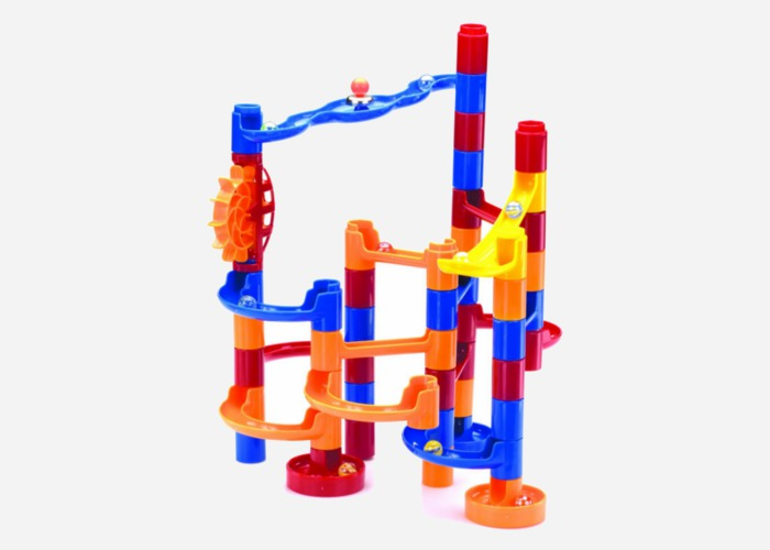 Marble maze - a gift for a 4 year old girl who loves building stuff and playing with marbles